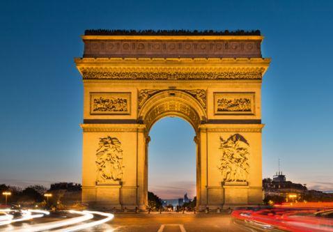 Campos Elíseos (Champs Elysées) y Arco de Triunfo