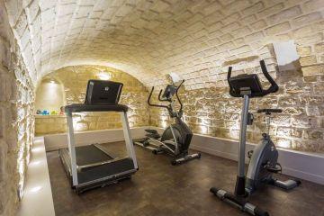 Salle de fitness hotel jardin de villiers Paris