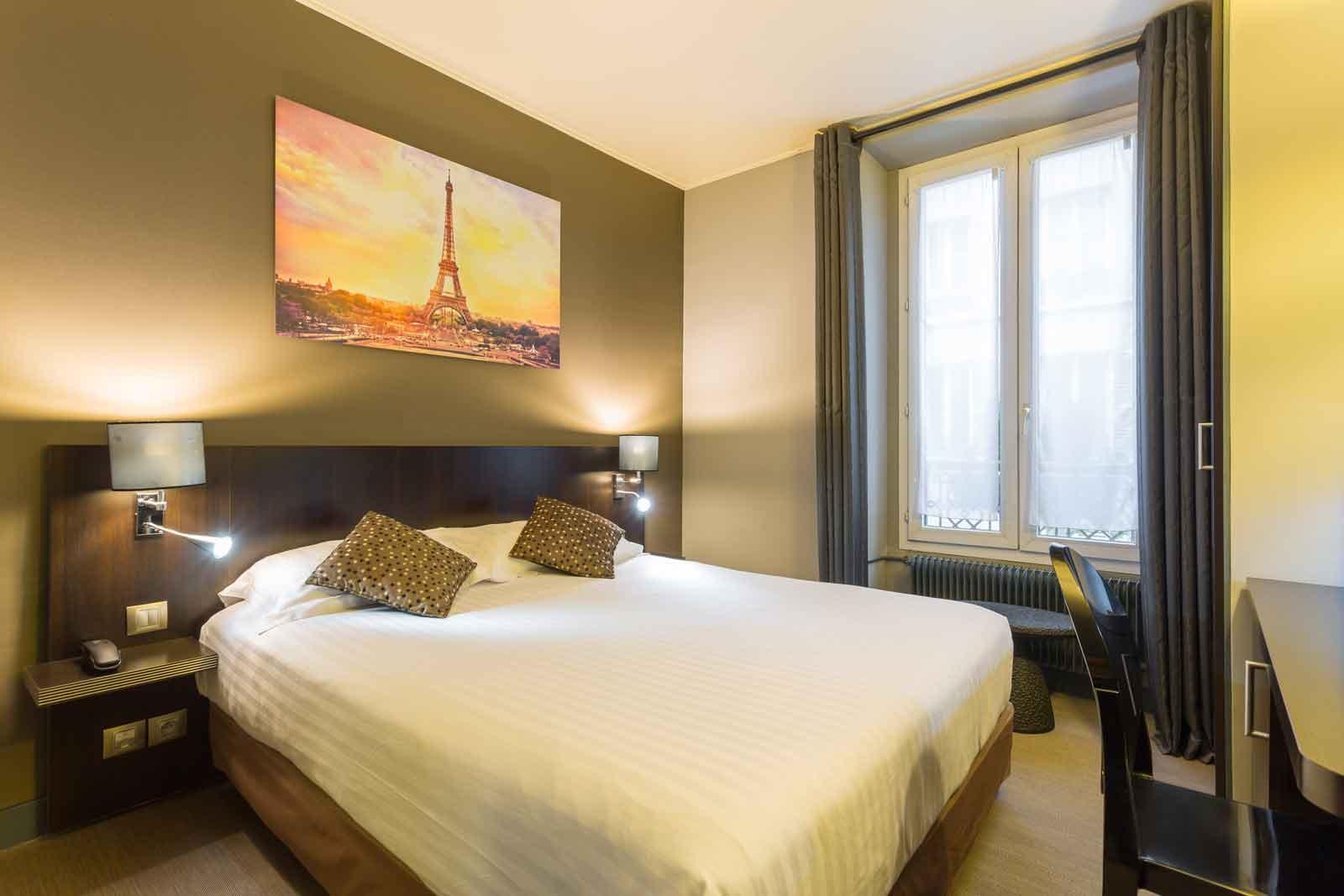 Chambre Double Hotel Jardin De Villiers Paris 17